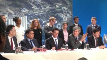 L'inauguration de la nouvelle usine Lesieur de Bassens