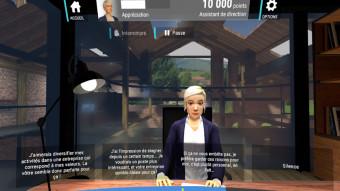 S'entraîner pour un entretien d'embauche en réalité virtuelle avec Pôle Emploi