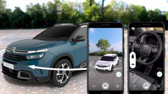 Citroën lance un configurateur en réalité augmentée sur Facebook Messenger pour son nouveau SUV C5 Aircross