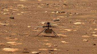 Premiers vols de drone sur Mars