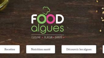 Food'algues, le site internet entièrement consacré à la cuisine aux algues.