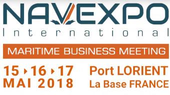 Navexpo, le rendez-vous d'affaires du maritime du 15 au 17 mai 2018