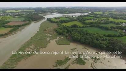Vidéo aérienne par drones du barrage de Pont-Sal avant sa démolition