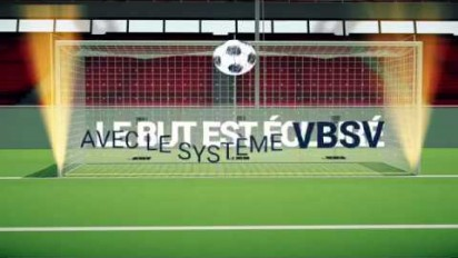 Animation 3D d'une solution innovante de validation des buts de football