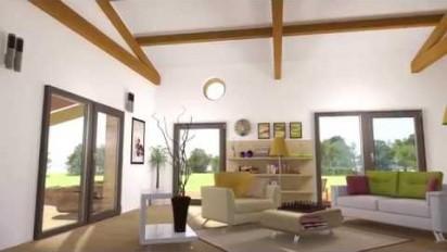 Animation 3D présentation de la plaque Soutuile isolée Soutuile  +