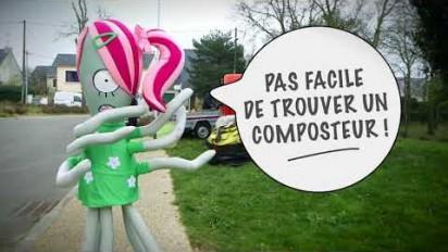 Reportage vidéo, la gestion des déchets verts par l'agglomération de Saint-Nazaire