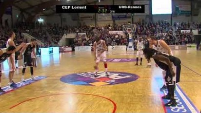 Captation vidéo match Cep Lorient Basket vs Union Rennes Basket