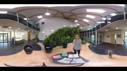 Visite d'usine en vidéo 360° immersive chez Graines Voltz