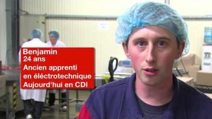 Le CFA Lorient sensibilise les jeunes à l'apprentissage