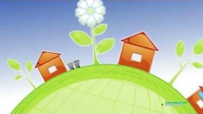 Animation 2D sur la collecte et la valorisation des ordures ménagères
