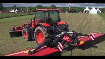 Vidéo de présentation du nouveau tracteur de Kubota