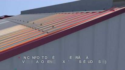 Présentation 3D sur l'ardoise française Isolonde pour les bâtiments agricoles