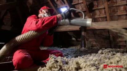 Tutoriel en vidéo pose de la laine de roche Jetrock