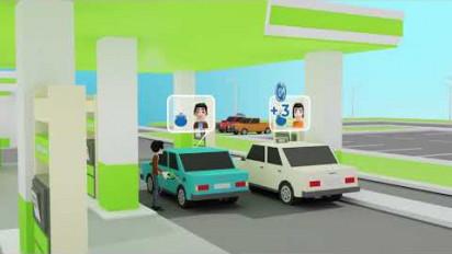 Animation 2D/3D présentation du projet Clean Coin auprès des futurs partenaires
