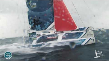 Clip vidéo Olmix sur la Route du Rhum 2018