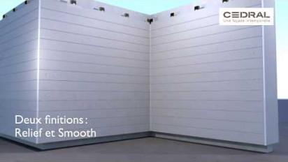Animation 3D notice de pose de bardage Cedral Click