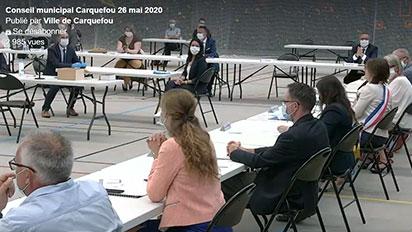 Captation et retransmission live du conseil municipal de Carquefou