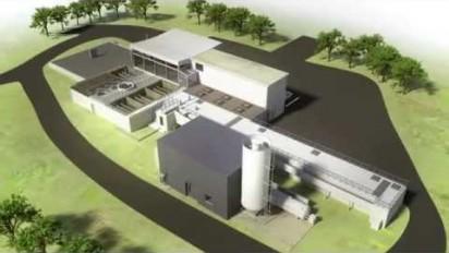 Présentation 3D du cycle du traitement de l'eau de l'usine du Pillion