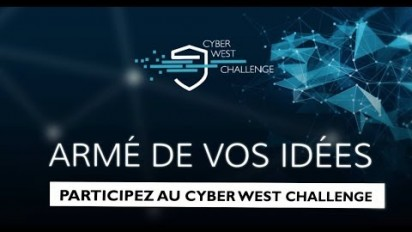 Clip promotionnel en Motion Design du Cyber West Challenge