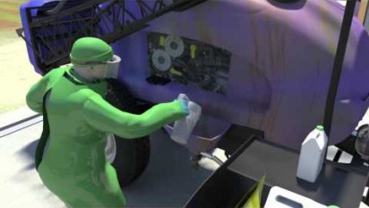Animation 3D sur les équipements Mobiphyt pour faciliter la manipulation des produits dangereux