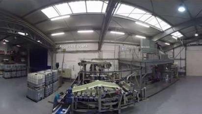 Visite en réalité virtuelle de l'alguerie d'Olmix