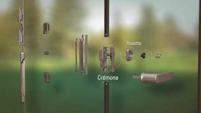 Animation 3D sur les fermetures exclusives de Schüco