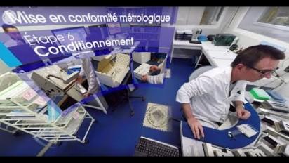 Visite immersive en 360° d'un laboratoire de Mettler Toledo
